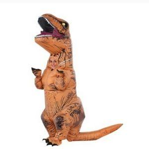 Kids dinosaur inflatable costume